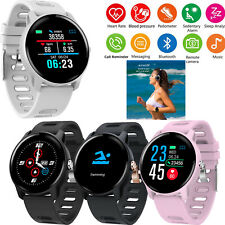 Large Screen Smart Watch Bluetooth Phone Mate Heart Rate Measure for Women Men
