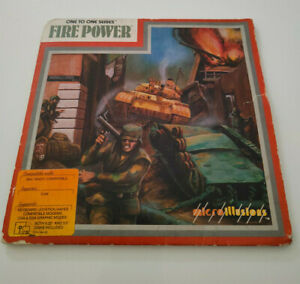 Fire Power, PC, IBM, MS-DOS 5,25'' Diskette Disk, MicroIllusions, 1988, OVP