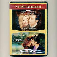 2 movies Kate & Leopold, Serendipity, new DVDs Meg Ryan Hugh Jackman John Cusack