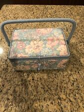 Vintage Musical Sewing Box San Francisco Music Box - Plays Buttons and Bows