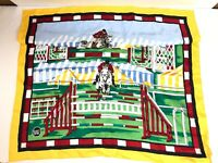 Authentic Worth NY Silk Square/Scarf Horse Riding Equestrian Silk WORTH