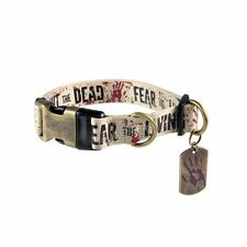 The Walking Dead - Hunde Halsband - Fight the Dead (S-XL)