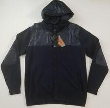 Adidas Porsche Design P5000 Mens Blue Cardigan Hoodie Jacket Size XL MSRP $270