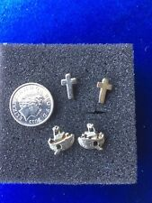 Noah's Ark is Really Cute. Will separate Cross and Noah's Ark Earrings 2 Pairs.