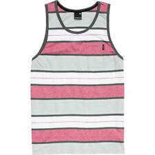 Nixon Hijack Camiseta Tirantes (XL) Gris Carbón Rayas S17741221-05