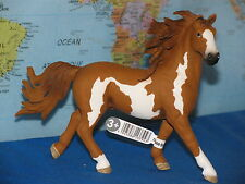SCHLEICH PINTO STALLION HORSE ANIMAL 13794 ***BRAND NEW & RARE***