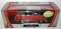 ROAD SIGNATURE 1/18 92327 1962 VOLKSWAGEN MICROBUS RED & BLACK