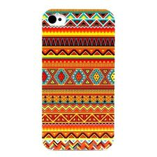 IPHONE Shell 4 Or 5 - Aztec Orange & Blue Be Fashion ( Case Cover Aztec)