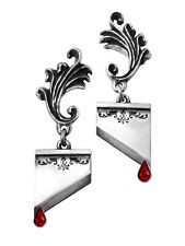Marie Antoinette Earrings - Alchemy Gothic Guillotine Jewellery E310