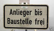 Verkehrsschild  Verkehrszeichen  Baustellenschild  Zusatzzeichen, 60x33cm *1646*