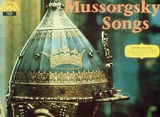 Mussorgsky Songs and Dances of Death Kim Borg Holecek Chalabala LP (L7788)