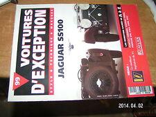 Voitures d'exception n°99 avec poster 4 page Jaguar SS100 / Patrick Head Porsche