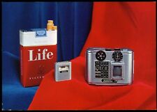 "Tessina camera color Advertising Card 8 1/4 x 5 3/4"""