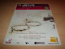 DEUS - VANTAGE POINT!!!!!!!!!!!!!!!! PUBLICITE / ADVERT