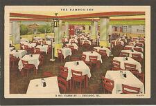 postcard.....BAMBOO INN.......CHICAGO, IL