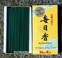 Nippon Kodo Mainichi koh Incense 300 Sticks Sandalwood Mainichkoh Incense NEW