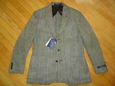 nwt $895 Polo Ralph Lauren Wool Made In Italy Blazer/Jacket sz 42R