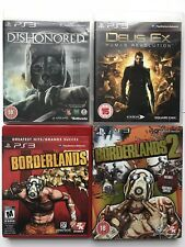 PS3 Games -Deus Ex Human Revolution+ Dishonored+ Borderlands+ Borderlands 2 (939