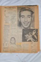 1965 Dodger Scrapbook: season thru series vs Twins; Koufax, Wills, Drysdale