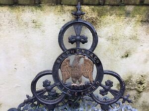 Cast Iron Sign Stevens and Co Bideford