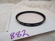 MC Multi Coated seguridad protectora de sol 1a Filtro Ultra Violeta UV 72mm Hecho Japón