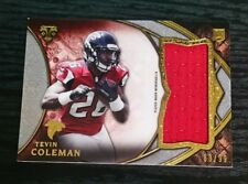 2015 TRIPLE THREADS jumbo patch TEVIN COLEMAN /99