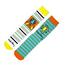Keith Haring * LTD EDITION * Pop Art 2 CONF. da Uomo Ballerina Calze 957543 7-11 EU 41-46