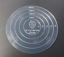 acrylic stencil sets | circle shape template set | acrylic circle shape template