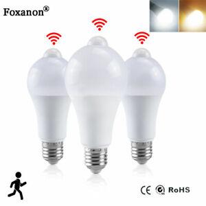 20W 12W 15W  LED Bulb Globe Bulb Lamp PIR Sensor Motion Light Auto ON/OF B22 E27