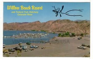 Willow Beach Resort Boulder City NEVADA Vintage Chrome Postcard