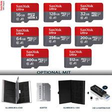 SanDisk Ultra 16GB 32GB 64GB 128GB 200GB 256GB 400GB 512GB microSD Memory Card