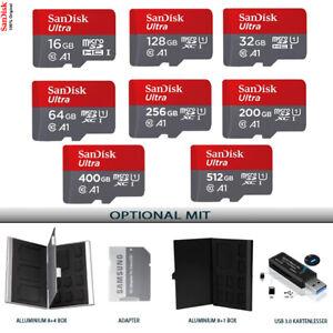 SanDisk Ultra 16GB, 32GB, 64GB, 200GB Micro SD Memory Card Class 10 TF