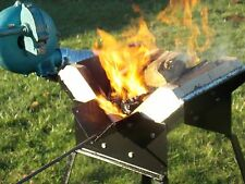 Mini Wood-Fired Forge for Blacksmithing with Charcoal  (Forge alone, no blower)