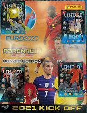 Rare Limited Editon Euro 2020 2021 Kick Off Panini Adrenalyn XL XXL Nordic