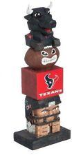 Houston Texans Tiki Tiki Totem Statue Figurine NFL Football Mascot Toro