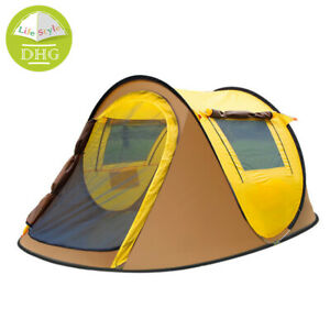 Automatic Pop Up Style Outdoor Camping Tent