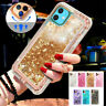 360° Liquid Glitter Bling Heavy Duty Case For iPhone 11 Xs XR Xs Max 7 8+6S
