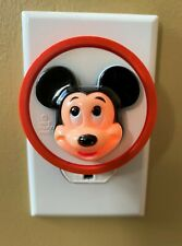 General Electric Walt Disney Productions Mickey Mouse Plug In Night Light