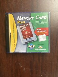 Memory Card Plus For Nintendo 64 N64 With Storage Case