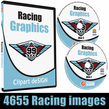 Racing Graphics Clipart Vinyl Cutter Plotter Race Car Images Vector Clip Art Cd