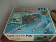 Fish Mate P21 Pond Fish Feeder~Automatic Daily Feeding~Adjusatable~New in Box