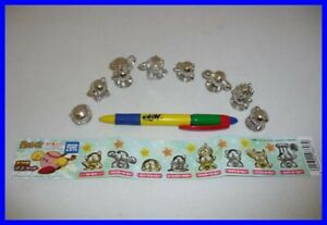 Kirby Métal Mascot Rare Set 8 Mini Figurine gashapon BANDAI Japon Originales