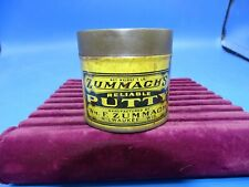 Antique Advertising Zummach's Reliable Putty 1 lb. Tin Can Milwaukee, WI