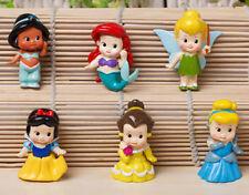 Lot 6pcs/set Baby princess figure snow white series toys 4-5cm toy Kids gift