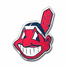 Cleveland Indians Emblem Auto Car Accessories Chrome Team ProMark MLB