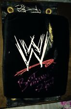Wwe Wwf Bret Hart & Shawn Michaels Signed Ring Used Worn Turnbuckle Rare Proof