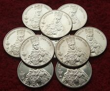 POLAND SET OF COINS PRL 100 ZL QUEEN JADWIGA 1988 YEAR !!! ONE PIECE LOT 1 PC