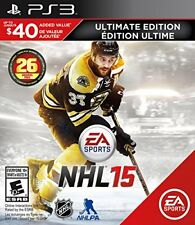 PS3 NHL 15 *ULTIMATE EDITION* (PlayStation 3) - Brand New/Sealed *RARE*