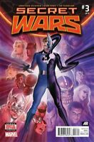 Secret Wars #3 Alex Ross Main Cover Marvel Comic 1st Print 2015 NM