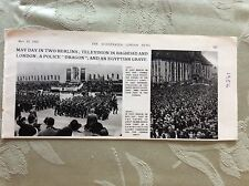 A2j Ephemera 1956 picture may day parade east berlin west berlin